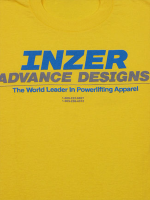 Inzer Logo Yellow T Shirt