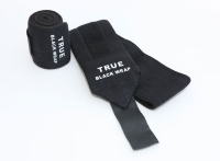INZER True Black Wrist Wraps Solid