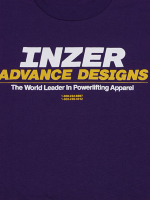 Inzer Logo Purple T Shirt