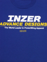 Inzer Logo Royal Blue T Shirt
