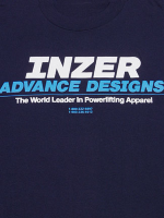 Inzer Logo Navy Blue T Shirt