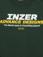Inzer Logo Forest Green T Shirt