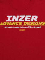 Inzer Logo Red T Shirt
